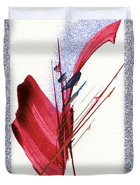 Red Sax Duvet Cover