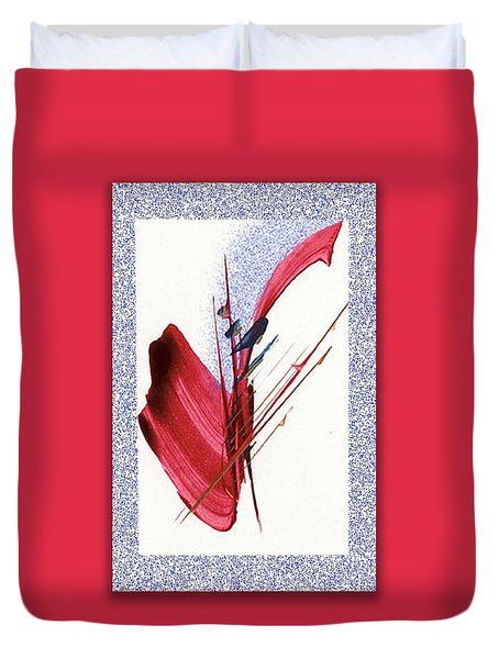 Red Sax Duvet Cover