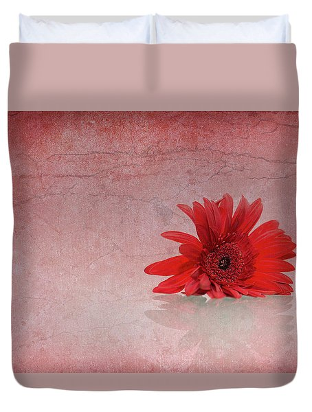 Red Scent Duvet Cover