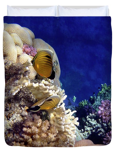 Red Sea Exotic World Duvet Cover