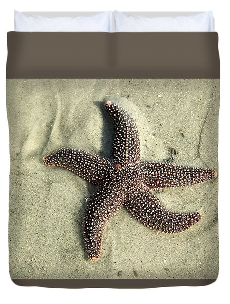 Red Sea Star Duvet Cover