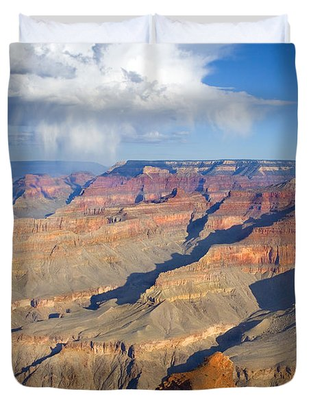 Red Storm Rising Duvet Cover