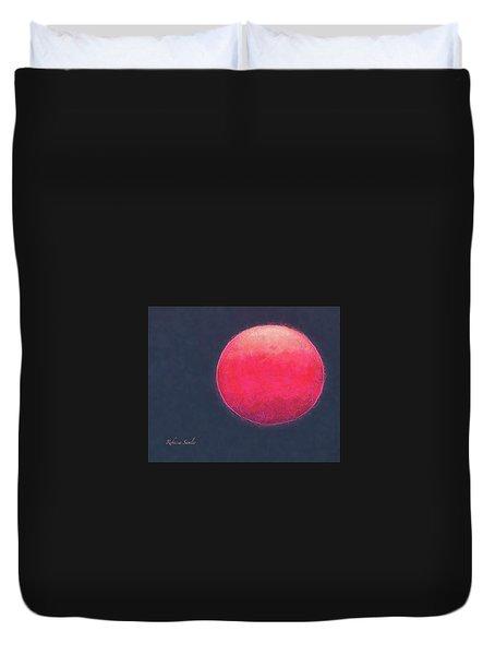Red Sun Duvet Cover