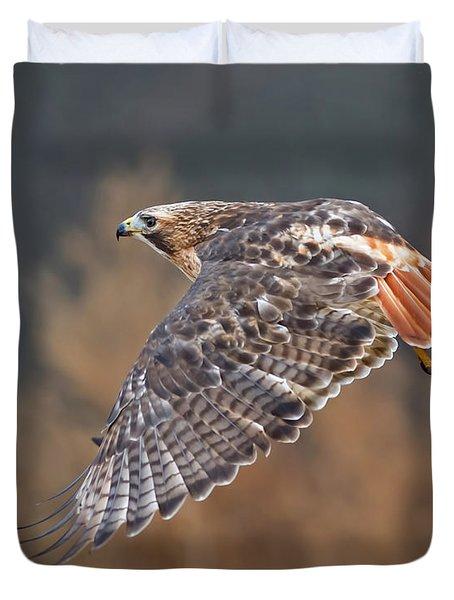 Red-tailed Flight Duvet Cover