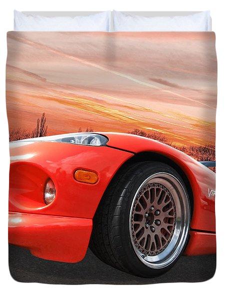 Red Viper Rt10 Duvet Cover