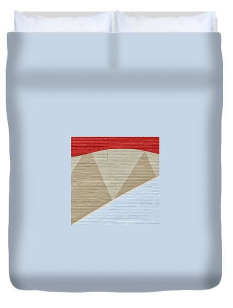 U-haul Art Duvet Cover