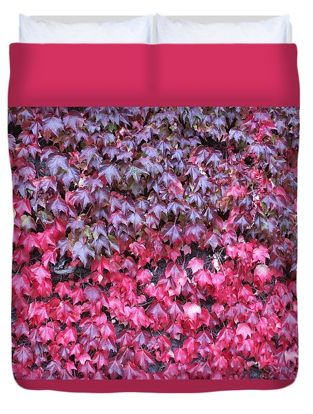 Red Wine Duvet Cover