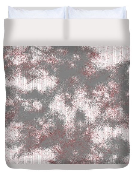 Red.225 Duvet Cover