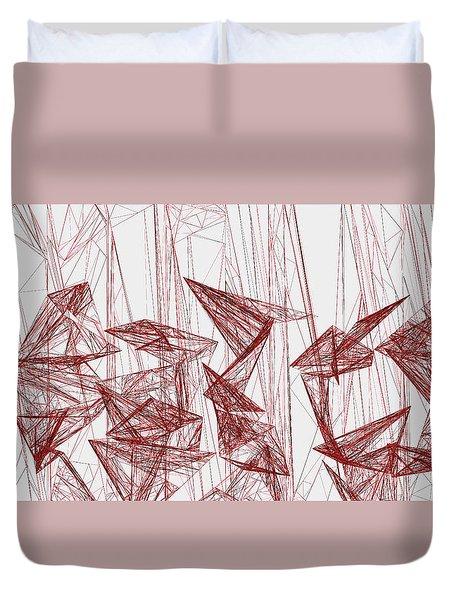 Red.323 Duvet Cover