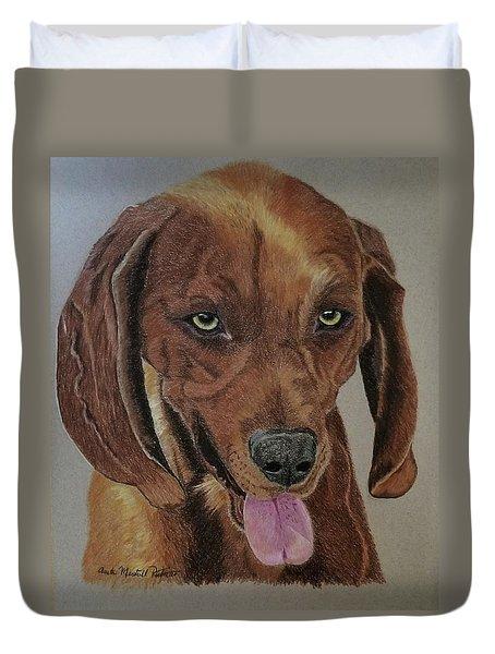 Redbone Coonhound Duvet Cover