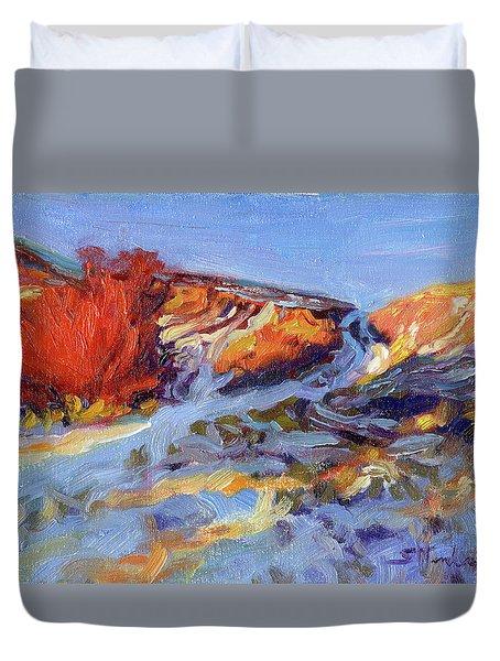 Redbush Duvet Cover