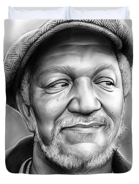 Redd Foxx Duvet Cover by Greg Joens