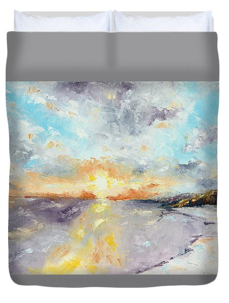 Redeemed Duvet Cover by Meaghan Troup