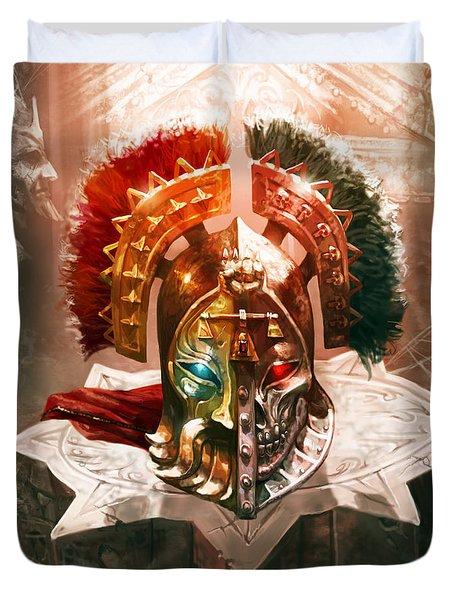 Redeemer's Helm Duvet Cover