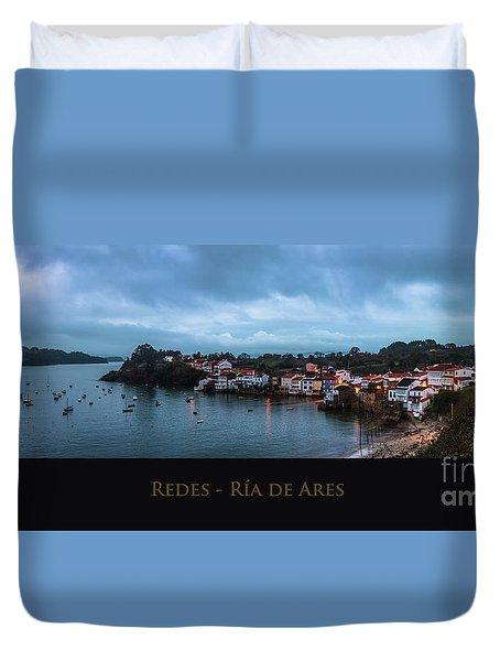 Redes Ria De Ares La Coruna Spain Duvet Cover