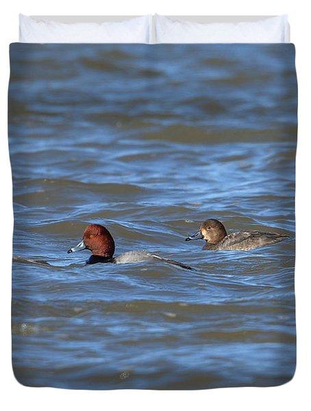 Redhead Ducks Dwf0138 Duvet Cover