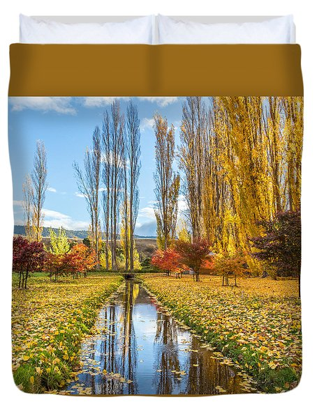 Redlands Estate Tasmania Duvet Cover