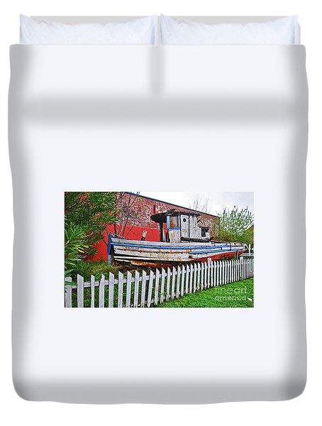 Redneck Dry Dock Duvet Cover