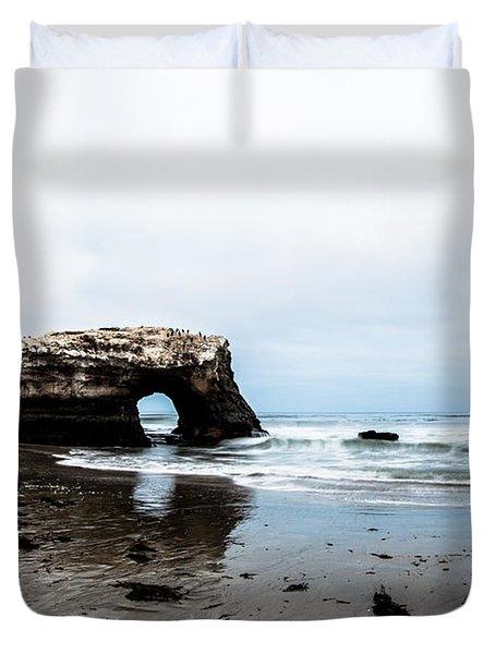Redo Of Natural Bridges Duvet Cover
