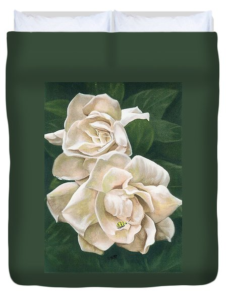 Redolent Duvet Cover by Barbara Keith