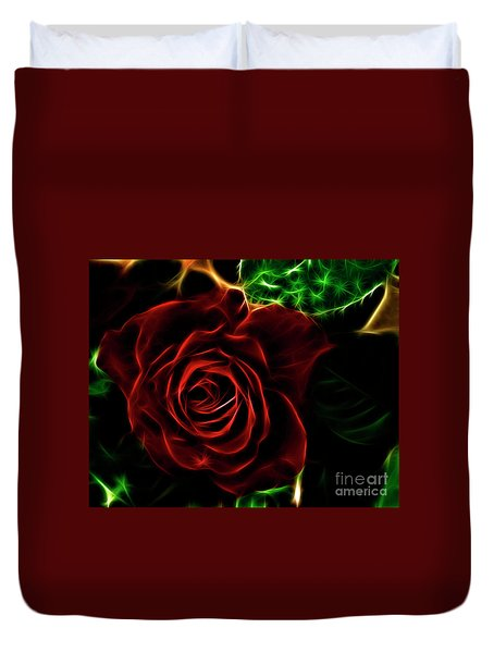 Red's Passion Duvet Cover