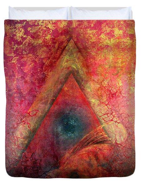 Redstargate Duvet Cover