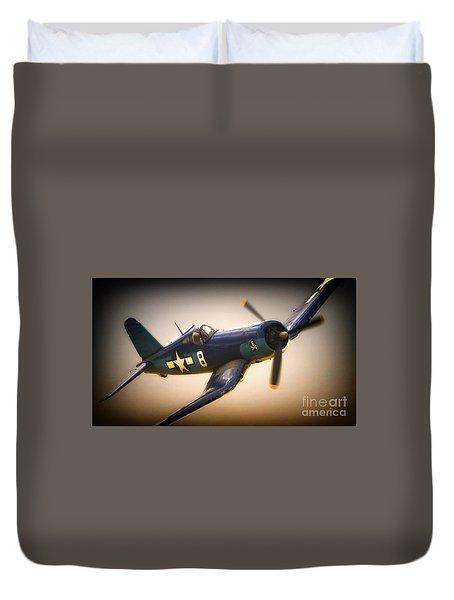 Redux For Clothing Vought F4u Corsair Jolly Roger No.8 Duvet Cover