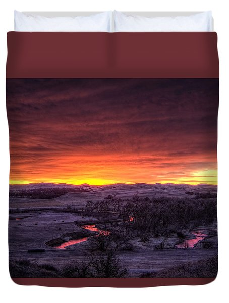 Redwater Duvet Cover