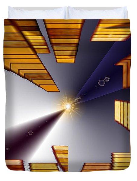 Reeds 3 Duvet Cover by Tim Allen