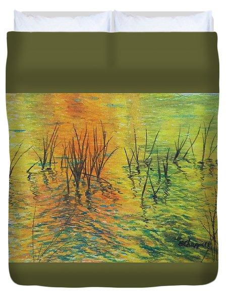 Reeds II Duvet Cover