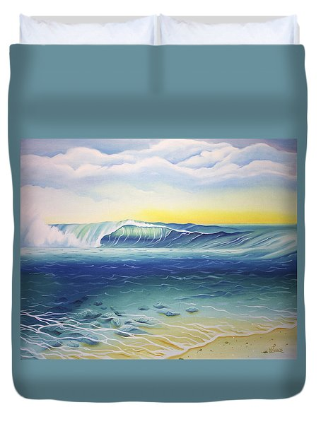 Reef Bowl Duvet Cover