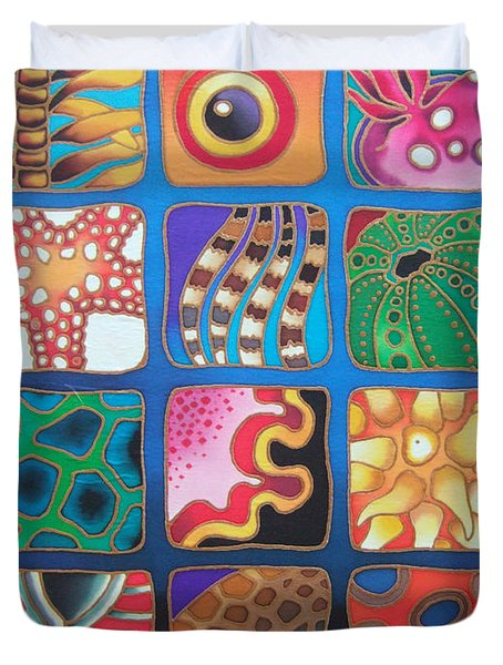 Reef Designs Vii Duvet Cover