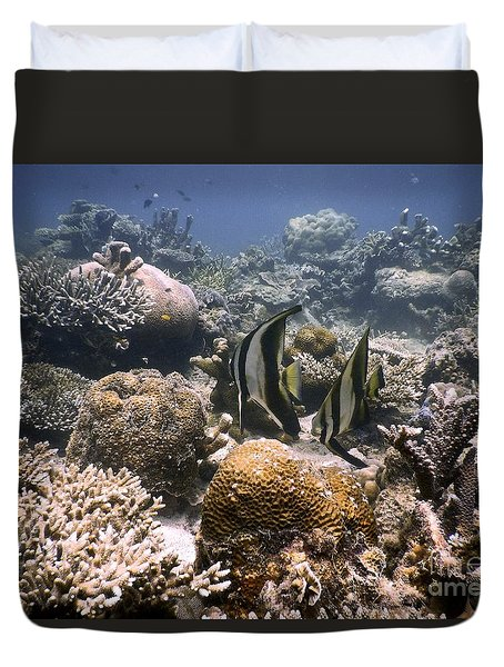 Reef Duvet Cover