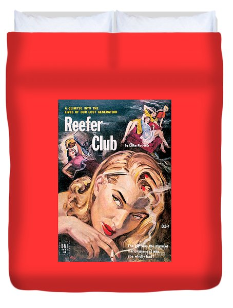 Reefer Club Duvet Cover