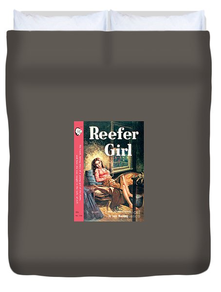 Reefer Gilr Duvet Cover