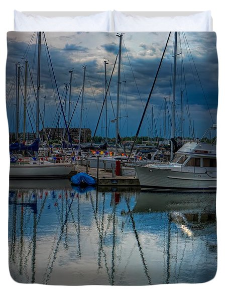 Reefpoint Marina Square Format Duvet Cover