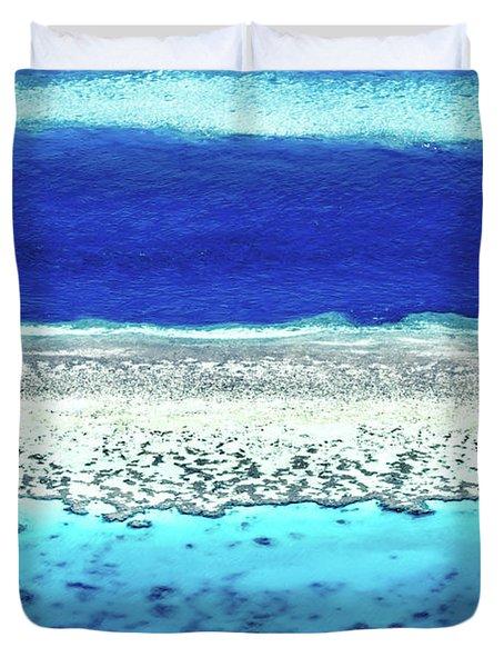 Reefs Edge Duvet Cover
