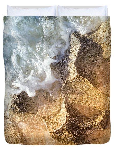 Reefy Textures Duvet Cover