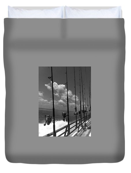 Reel Clouds Duvet Cover