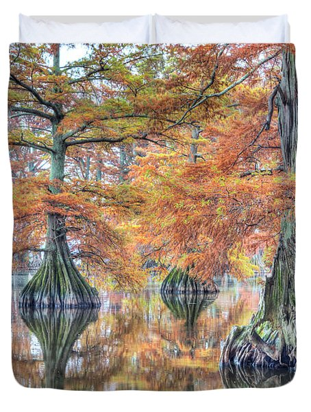 Reelfoot Lake 2015 05-2 Duvet Cover