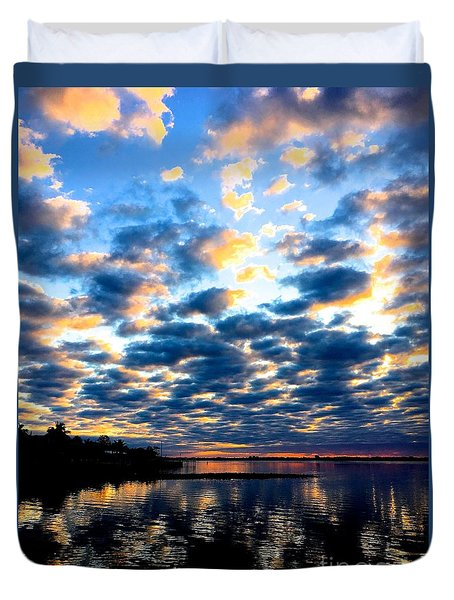 Refelections  Duvet Cover