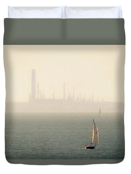 Refined Mists Duvet Cover