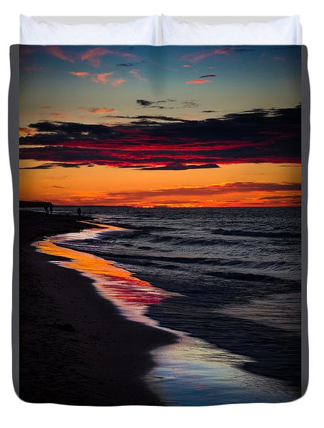 Reflect On This Duvet Cover by Peter Scott