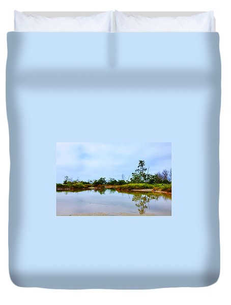 Englewood Beach Duvet Cover