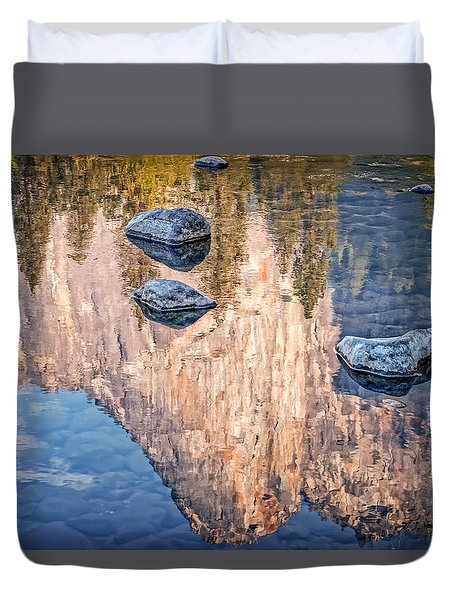 Reflected Majesty Duvet Cover