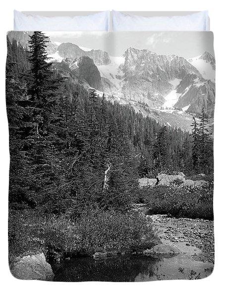 Reflected Pine Duvet Cover