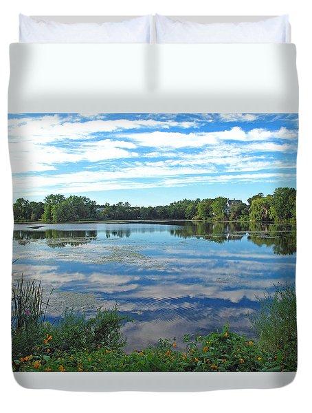 Reflected Sky Duvet Cover