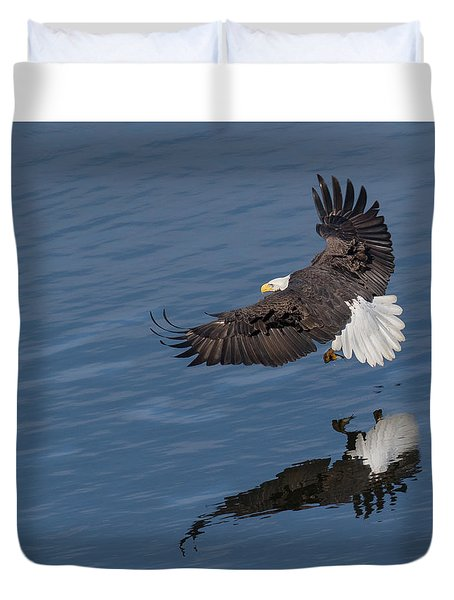 Reflected Strength Duvet Cover