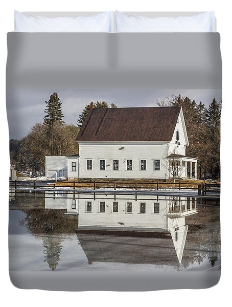 Reflected Town House Duvet Cover