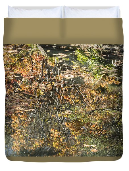 Reflecting Gold Duvet Cover